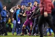 Aguero វៃអ្នកគាំទ្រ ខណៈ Pep ឈ្លោះជាមួយបុគ្គលិក Wigan នៅ FA Cup