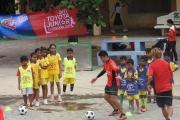 ក្មេងចំនួន ៤៨៨ នាក់ ចូលរួមប្រកួតពាន Toyota Junior Cambodia Cup 2017